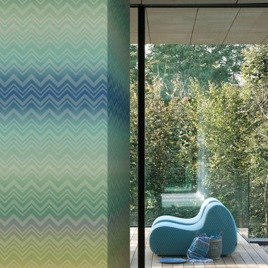 Missoni Home Zig Zag Sfumata Blue-Green 20090