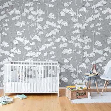 Rebel Walls Animal Tree Grey R15332