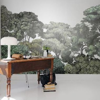 Rebel Walls Bellewood Black Toile R13053