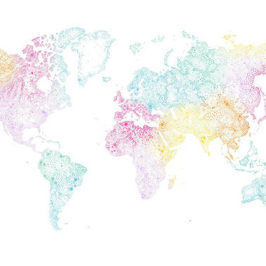 Sandberg world map multicoloured 630 19 sandberg select wallpaper sandberg world map multicoloured 630 19 gumiabroncs Images