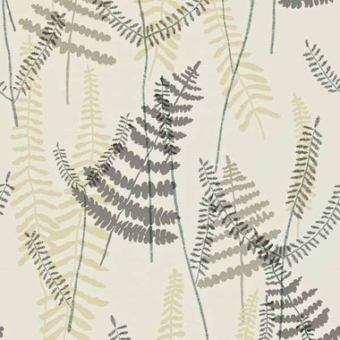 Scion Athyrium Chalk-Pewter-Biscuit 110212
