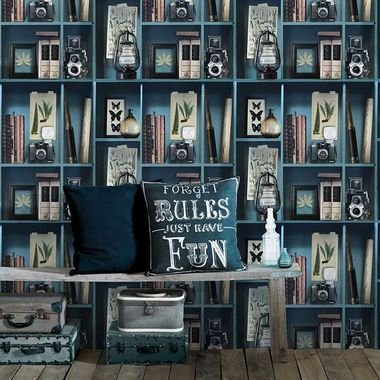 Superfresco Curiosite Biblio Blue 100277