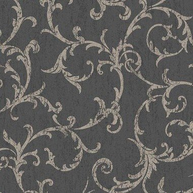 Superfresco Empress Scroll Black-Gold 104963