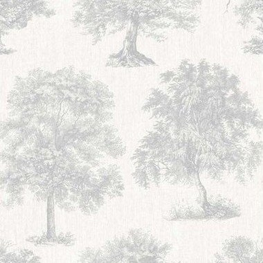Superfresco Enchanted Tree Silver 104876