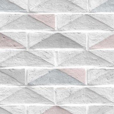Superfresco Geo Brick Blue 104884