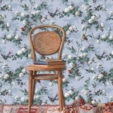 The Vintage Collection Bird Print Pink HWP-12010-2