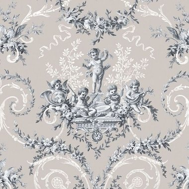 The Vintage Collection Cherub Toile Neutral HWP-12011-6
