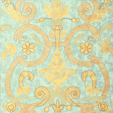 Thibaut Castello Metallic on Aqua T1358