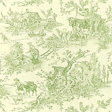 Thibaut Chateau Du Loir Green-Off White T7310