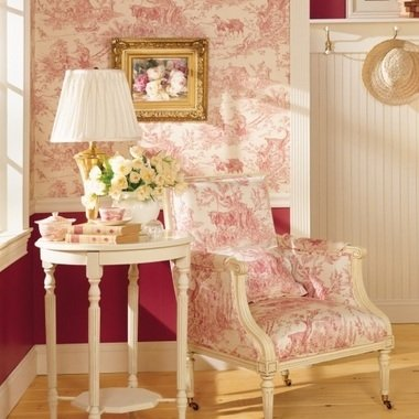 Thibaut Chateau Du Loir Red-Cream T7301