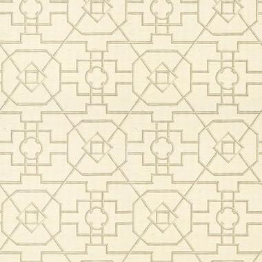 Thibaut East Gate Cream and Grey T41153