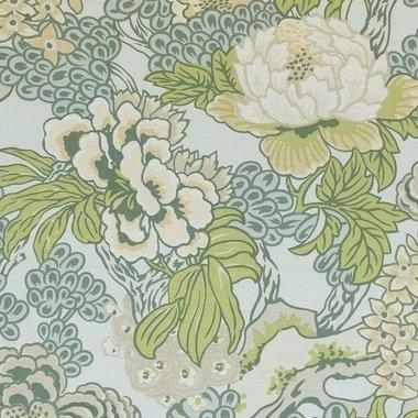 Thibaut Honshu Robins Egg F975485 Dynasty Fabrics Select
