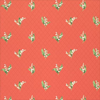 Thibaut Lily of the Valley Coral T5110
