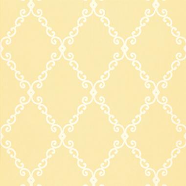 Thibaut London Trellis Yellow T4741 Select Wallpaper