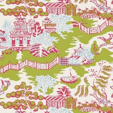 Thibaut Luzon Green and Raspberry T36106