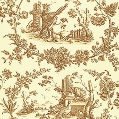 Thibaut Pheasant Toile Brown F96339