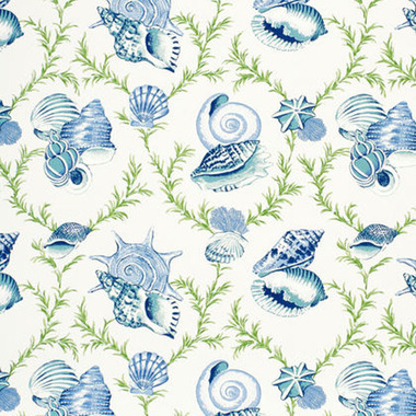 Thibaut Sumba Shell Blue and Green F95747