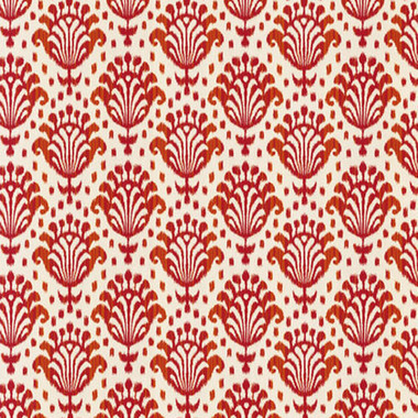 Thibaut Thai Ikat Indoor-Outdoor Raspberry W72781