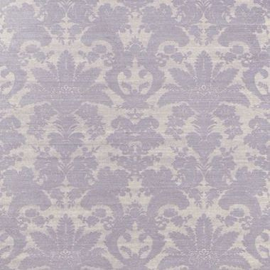 Thibaut West Indies Damask Metallic Silver On Taupe T3631 Select