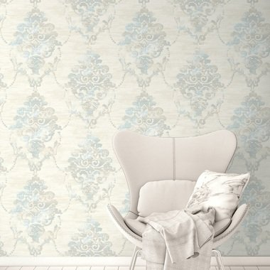 Today Interiors Impressionist Damask FI71014