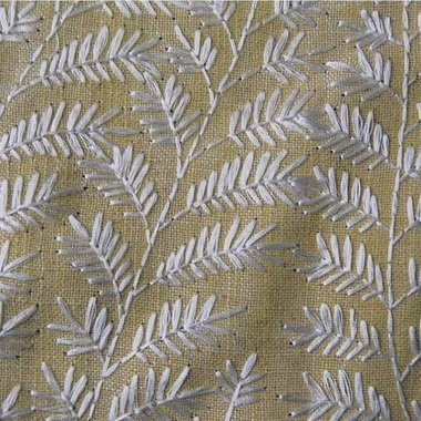 Voyage Fernbank Lemongrass Fabric