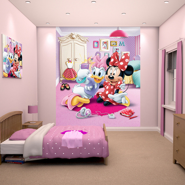 Disney Minnie Mouse Mural 43077