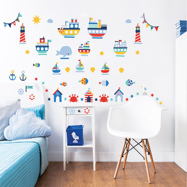 Walltastic Nautical 44845