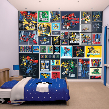 Transformers Robots In Disguise Mural 43831