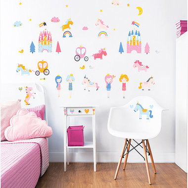 Walltastic Unicorn Kingdom 45064
