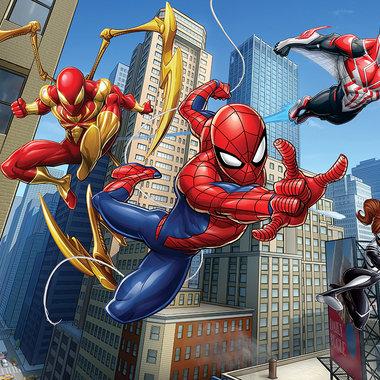 walltastic marvel spiderman wall mural 45330 walltastic 12 panel