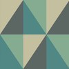 Cole & Son Apex Grand Teal 105-10045 Thumbnail