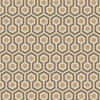 Cole & Son Hicks Hexagon Taupe-Bronze 95-3017 Thumbnail