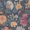 Cole & Son Midsummer Bloom Burnt Orange-Rose-Petrol-Ink 116-4014 Thumbnail