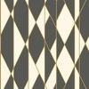 Cole & Son Oblique Black-White 105-11049 Thumbnail