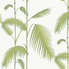 Cole & Son Palm Leaves Leaf Green-White 95-1009 Thumbnail