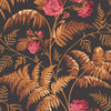 Cole & Son Rose Cerise-Burnt Orange-Black 115-10029 Thumbnail