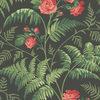 Cole & Son Rose Red-Leaf Green-Charcoal 115-10030 Thumbnail