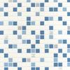 Contour Checker Tile Aqua 20-506 Thumbnail