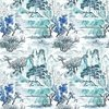Designers Guild Jade Temple Outdoor Cornflower FDG2671-01 Thumbnail
