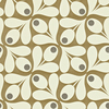 Orla Kiely Acorn Spot Brown Pepper 110418 Thumbnail