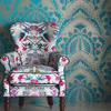 Matthew Williamson Azari Black-White W6952-05 Thumbnail