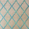Matthew Williamson Jali Trellis Teal-Gilver W6957-01 Thumbnail