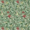 Morris & Co Arbutus Dark Green-Red 210406 Thumbnail