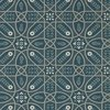 Morris & Co Brophy Trellis Deep Teal 216699 Thumbnail