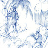 Nina Campbell Barbarry Toile Blue NCW4205-03 Thumbnail