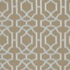Thibaut Alston Trellis Grey on Natural W713030 Thumbnail