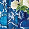 Thibaut Banyan Embroidery Green and Blue W764103 Thumbnail