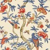 Thibaut Giselle Blue and Coral T14228 Thumbnail