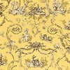 Thibaut Paysannerie Toile Black-Yellow T7372 Thumbnail