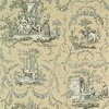 Thibaut Springfield Toile Black on Taupe T6969 Thumbnail